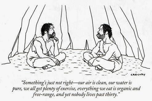 """""""Coś jest nie tak. Mamy czyste powietrze, nasza woda jest krystaliczna, mamy bardzo dużo ruchu, odżywiamy się tylko w sposób naturalny - bez polepszaczy - a jednak nikt z nas nie żyje dłużej niż do 30-tki!"""