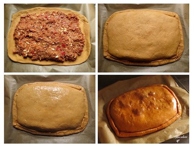 Montando la empanada