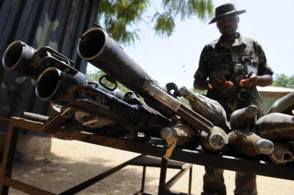 nigerian army old weapons
