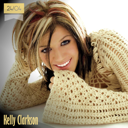 24 de abril | Kelly Clarkson - @kelly_clarkson | Info + vídeos