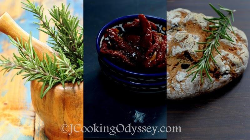 Feta And Sun-dried Tomato Soda Bread Recipe — Dishmaps