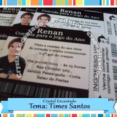 Convite Santos