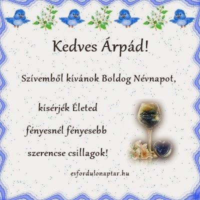 Árpád névnap