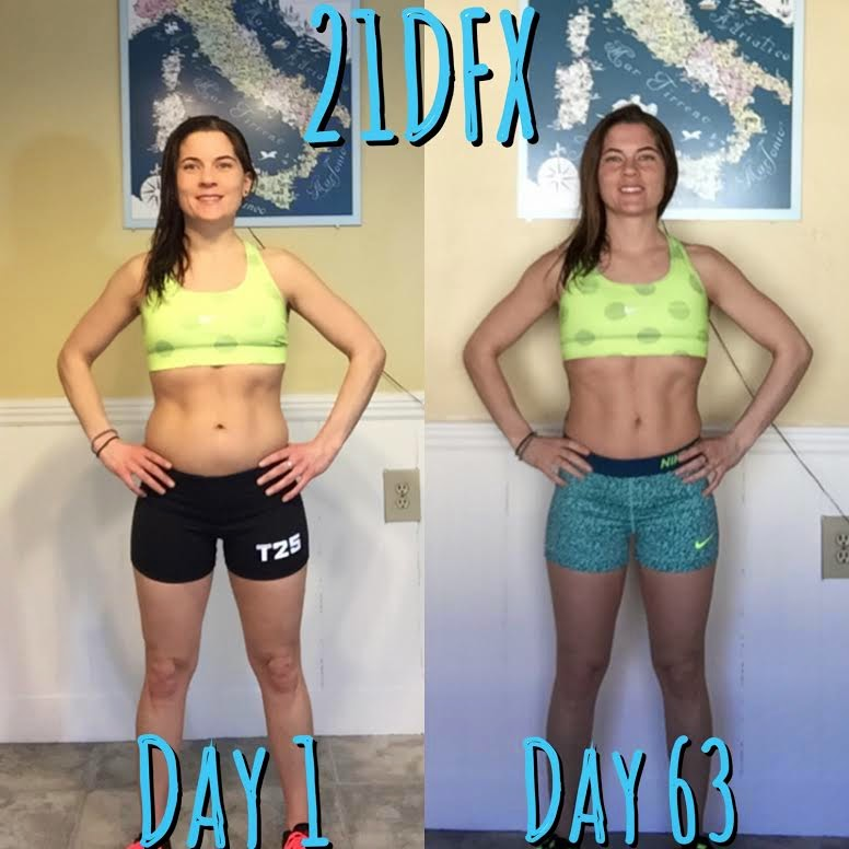 21 day fix extreme, results, meal plan, Jaime Messina , Autumn Calabrese