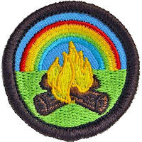 Gay Scout Camping Badge