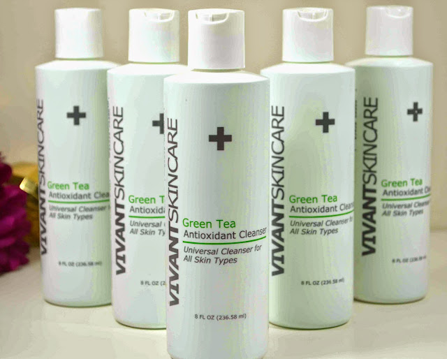Vivant Skincare - Green tea cleanser - cleanser - facial skincare - skincare - Giveaway