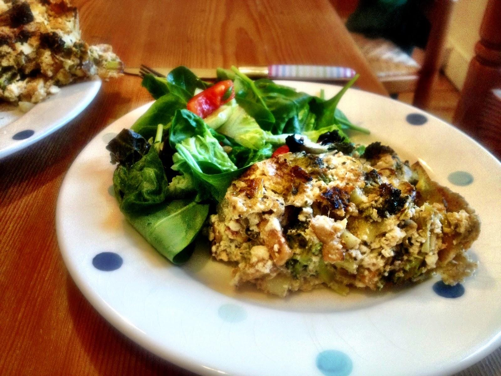 Savouring Sustainability: Vegan Quiche Lorraine (with broccoli)