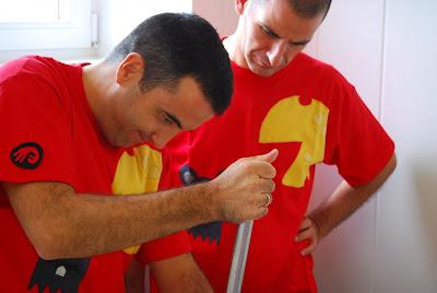 Oscar Velasco y Abel Vlverde. Blog Esteban  Capdevila