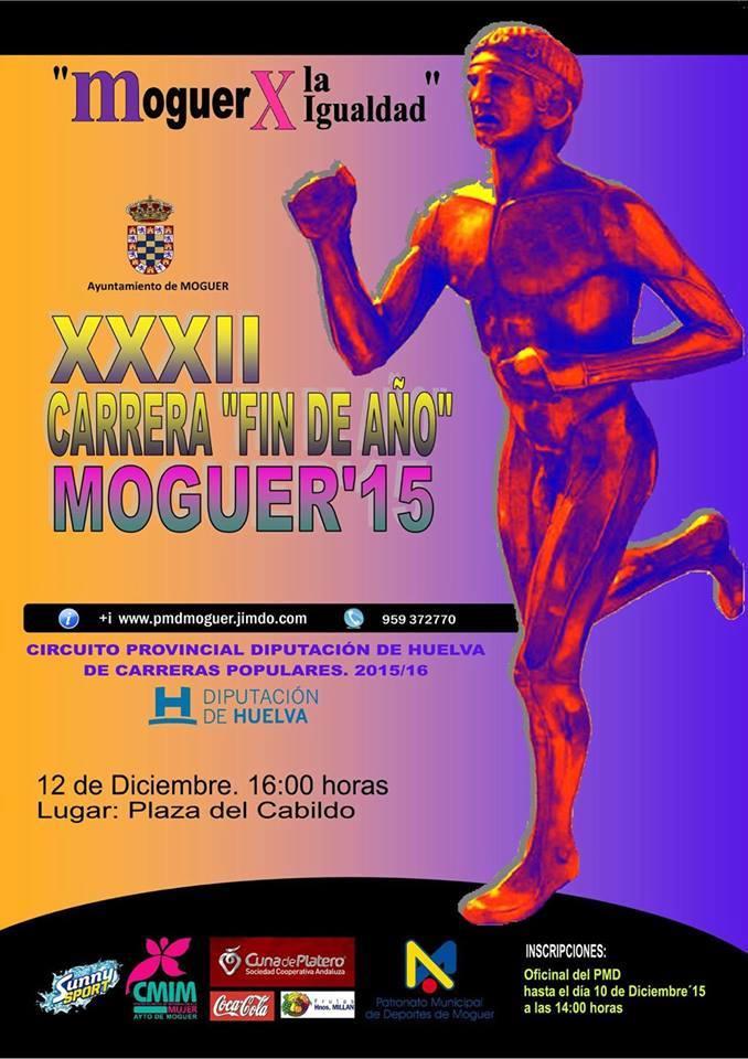 CCARRERA FIN DE AÑO DE MOGUER