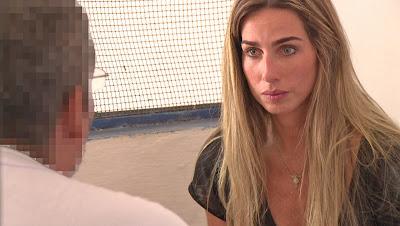 Mariana Weickert entrevista o estuprador mais perigoso da Paraíba - Divulgação/Band