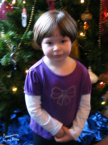 grand daughters new haircut
