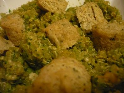 Celle qui cuisinait ou le plaisir de cuisiner quinoa - Cuisiner brocolis surgeles ...