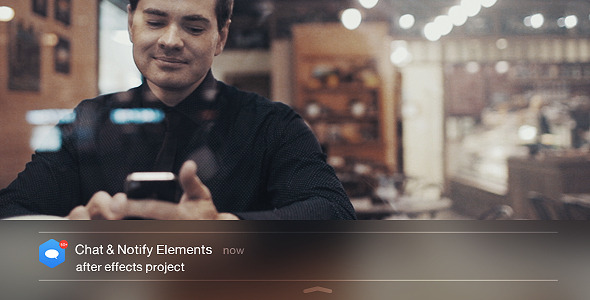VideoHive Chat & Notify Elements
