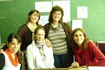 Maestras de la Escuela 37 y  Educadores del equipo Identidades