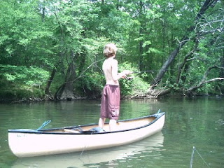 North Carolina River Fishing And Canoeing With Mack