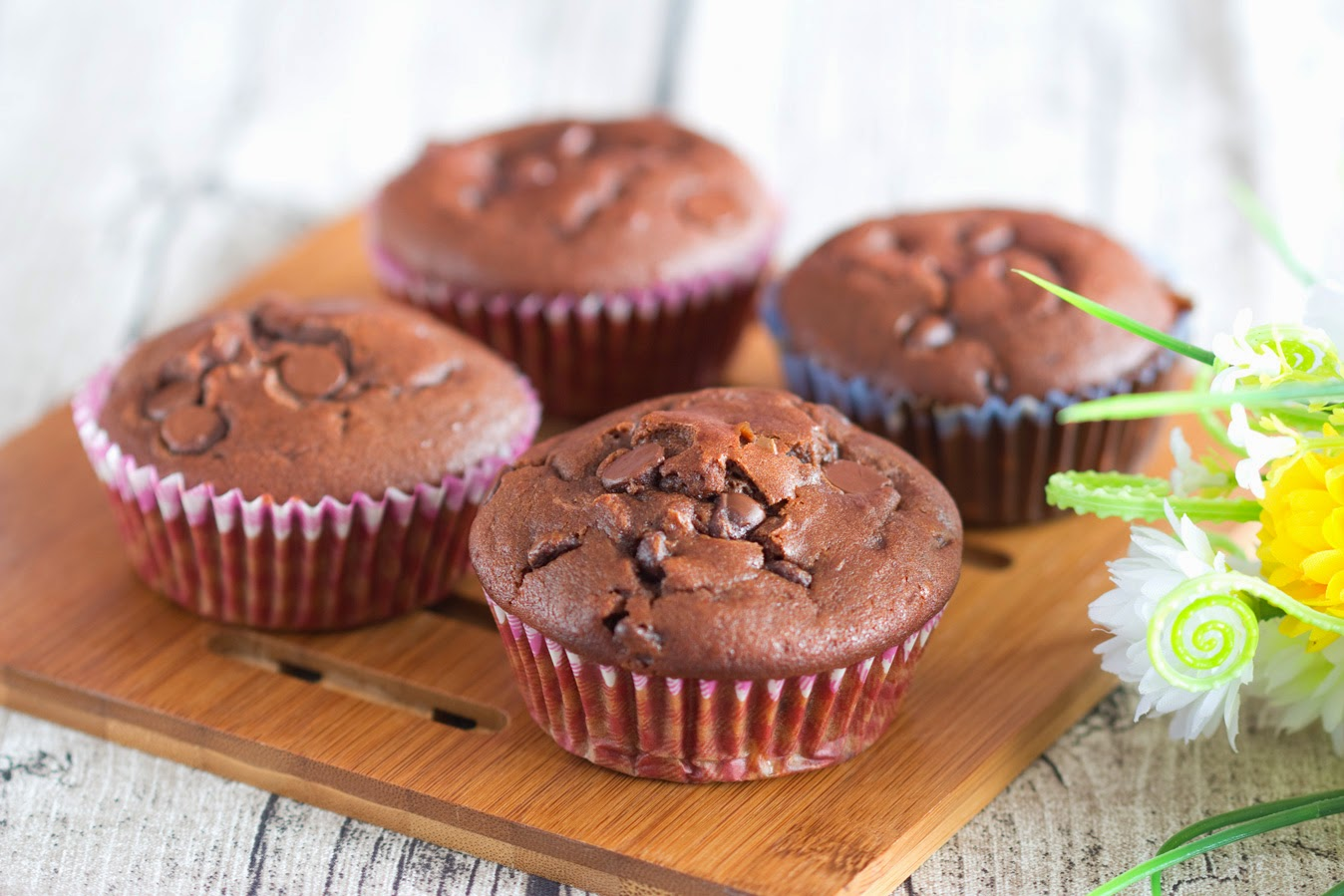 Durian Chocolate Muffin