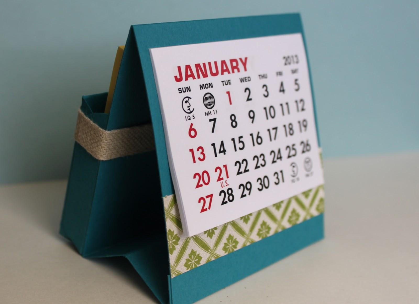Card Making Ideas For Class 3 Part - 28: New Year, New Calendar For Fridayu0027s Class!