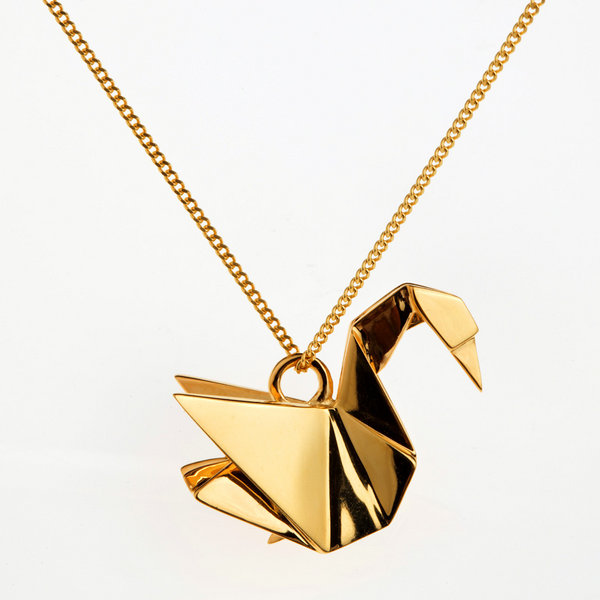 rock it the immortalisation of a swan origami jewellery