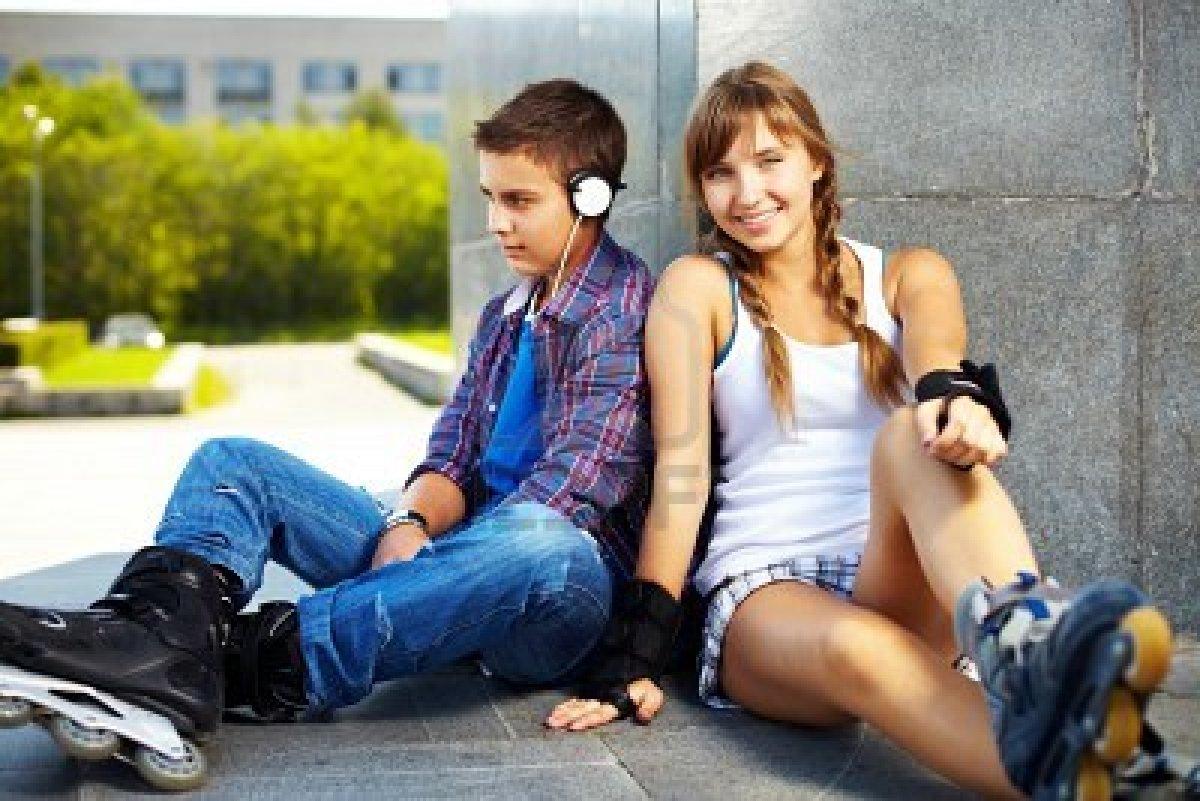 Adolescente libre de la foto adolescente