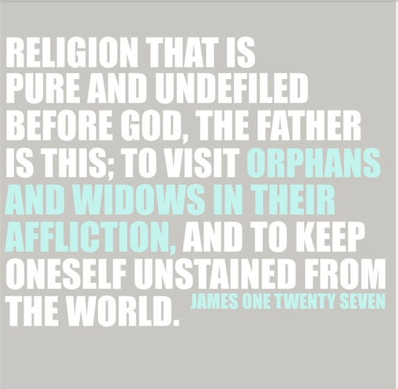 James 1:27