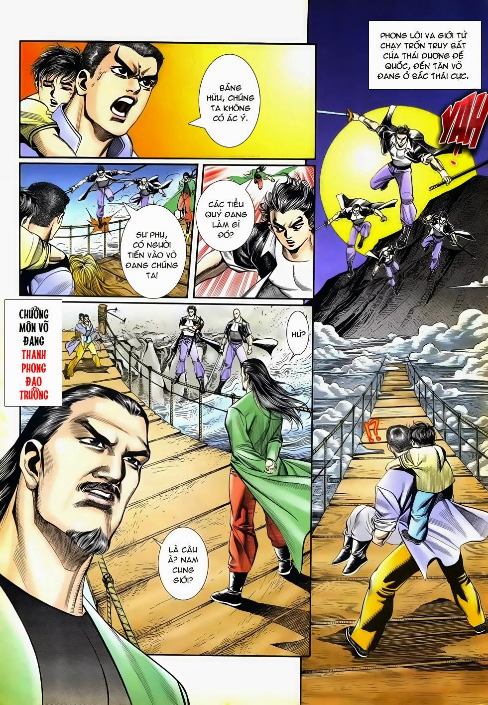 Long Hổ Phong Bạo chap 4 - Trang 24