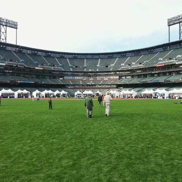 AT&T Park // On the Field