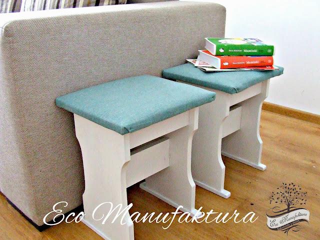 Metamorfoza taboretów. Jak odnowić krzesła DIY by Eco manufaktura