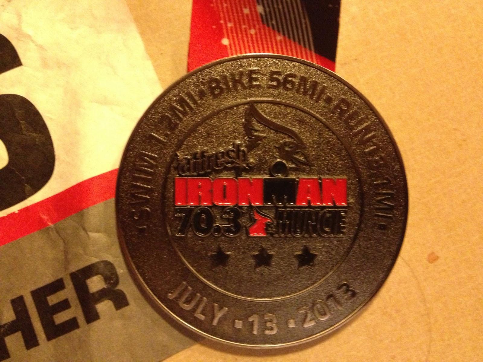 I ADVISE U: Muncie Ironman 70.3 Race Recap