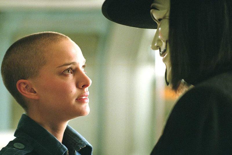 Natalie Portman - V de Vingança