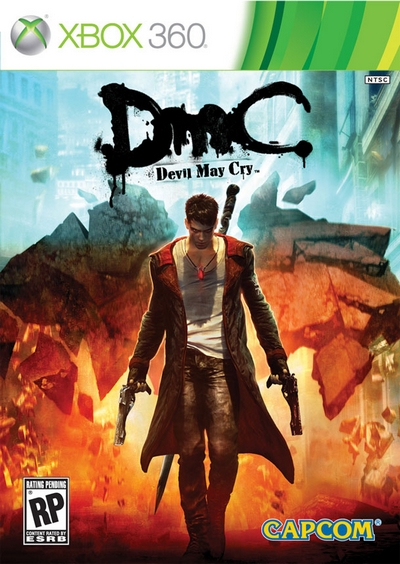 DMC Devil May Cry Xbox 360 Box Art