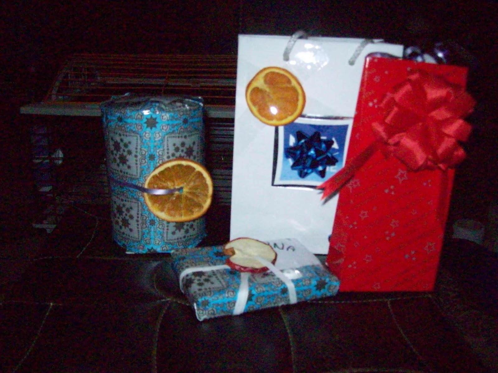 Pakowanie prezentów:)