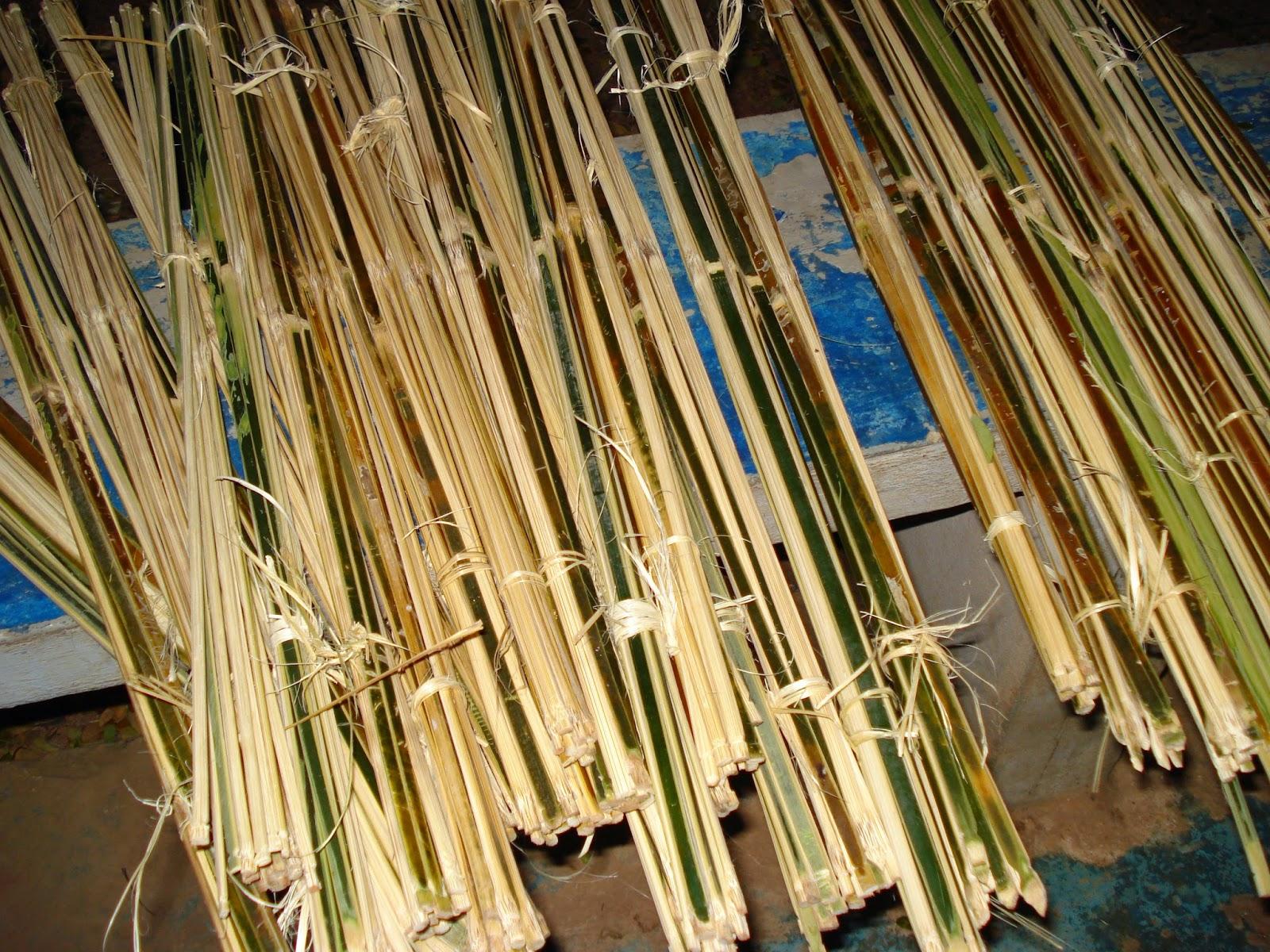 Láminas de bambú