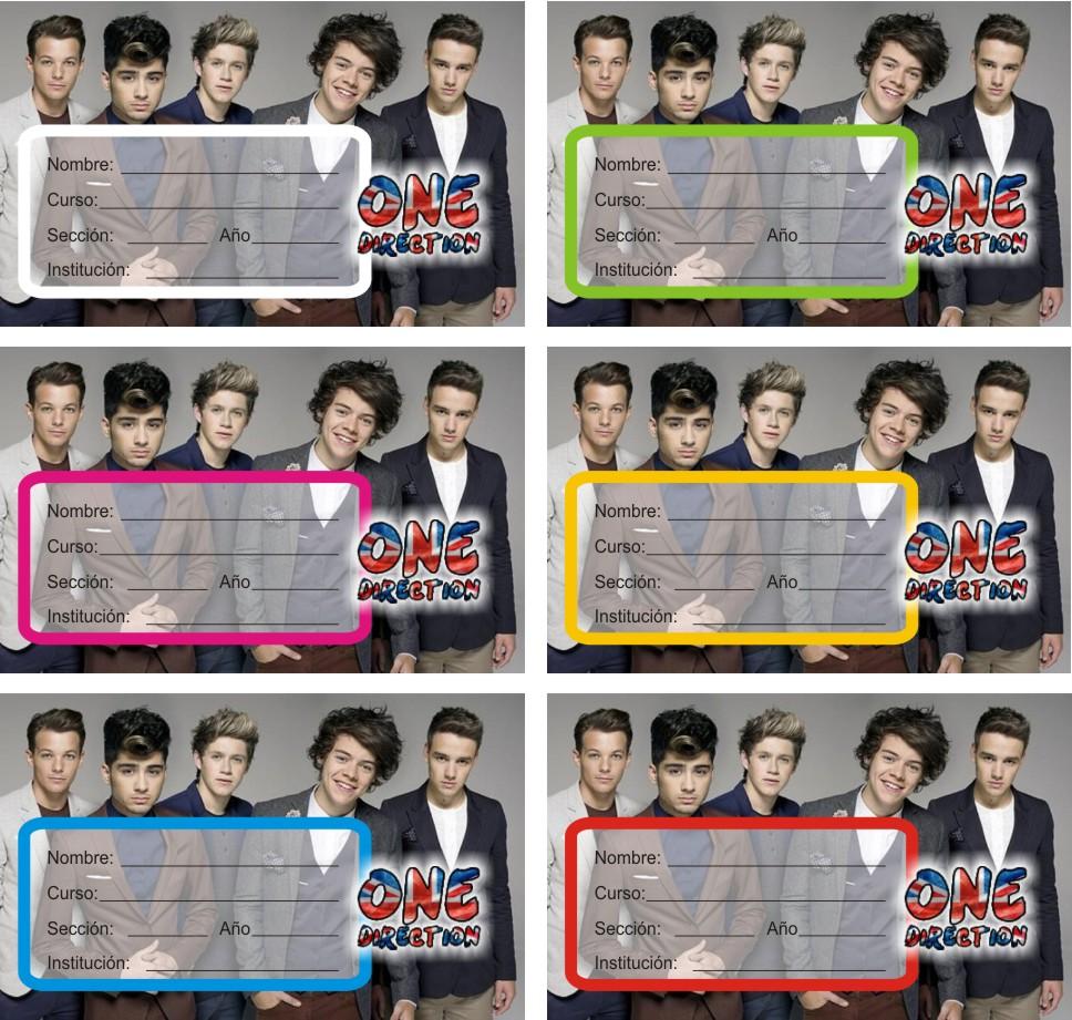 Niall Horan, Zayn Malik, Liam Payne, Harry Styles y Louis Tomlinson