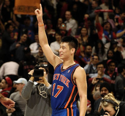 Christian Jeremy Lin points to Jesus