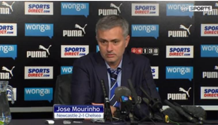 Jose Mourinho blames Newcastle BALL-BOYS for Chelsea's defeat