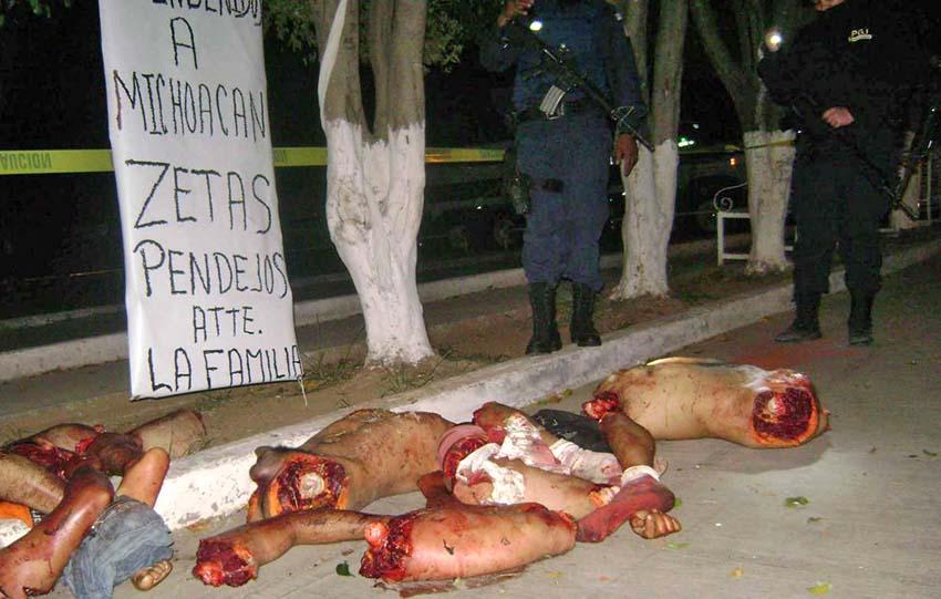 Violencia extrema en México (ojo, imagen muy dura)