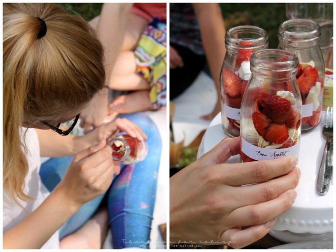 Geramont Glückskäse Picknick Erdbeer Schlemmerei
