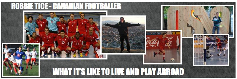 Robbie Tice - Canadian Footballer