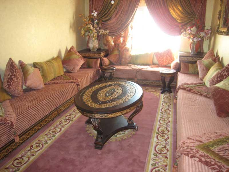 Culture générale: Le salon marocain