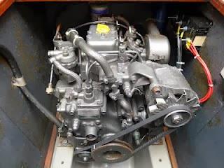 Yanmar 2GM20 motor