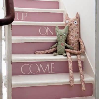 decoração escadas