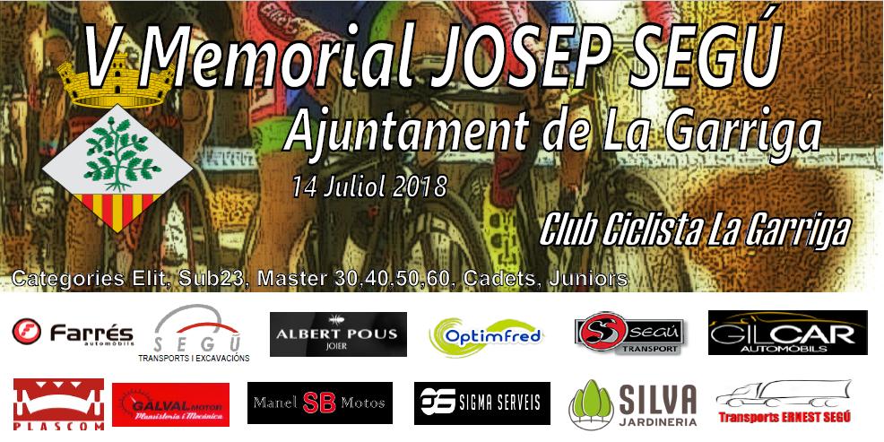 5e Memorial JOSEP SEGÚ