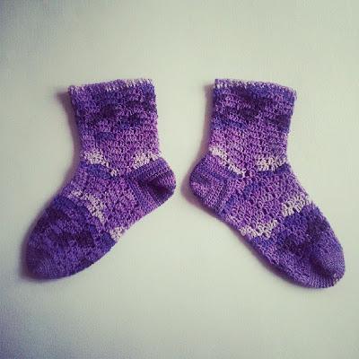 Heklaðir sokkar