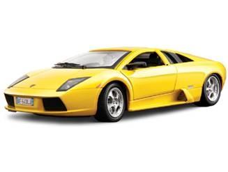 Lamborghini Diecast Bburago No. 18-12022/Yellow 1/18th Scale Diecast Model Lamborghini Murcielago Yellow