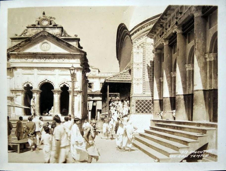 Kalighat Temple - Kolkata (Calcutta) 1932