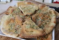 Pão Sírio Crocante com Gergelim e Sementes de Girassol (vegana)