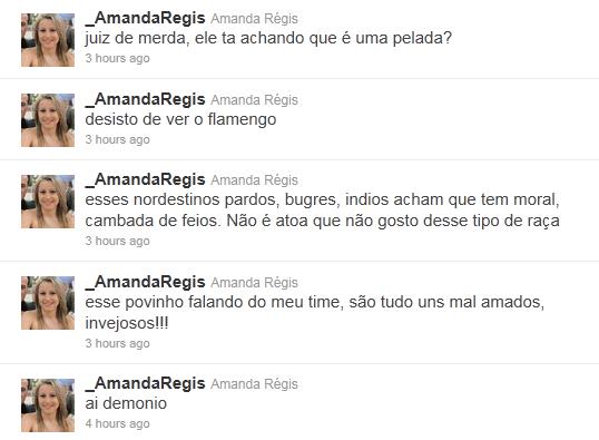 Amanda Regis, @_AmandaRegis, #orgulhodesernordestino, preconceito