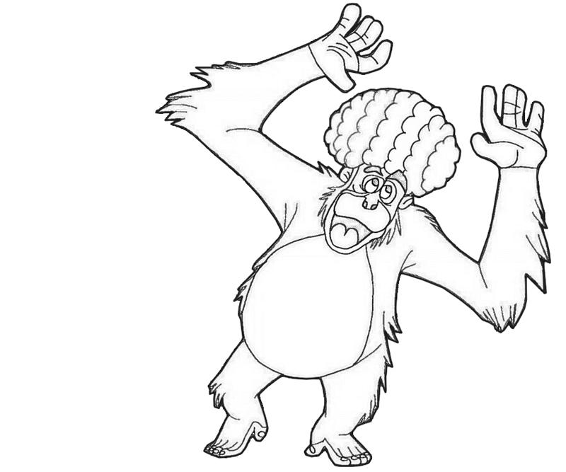 king-louie-dance-coloring-pages