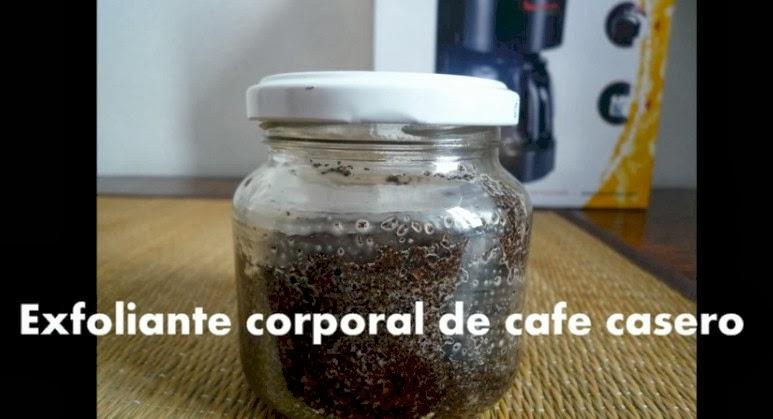Exfoliante corporal de cafe