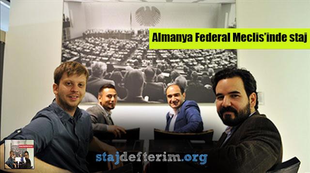 Türk üniversite öğrenci ve mezunları artık Almanya Federal Meclis'inde staj yapabiliyor.